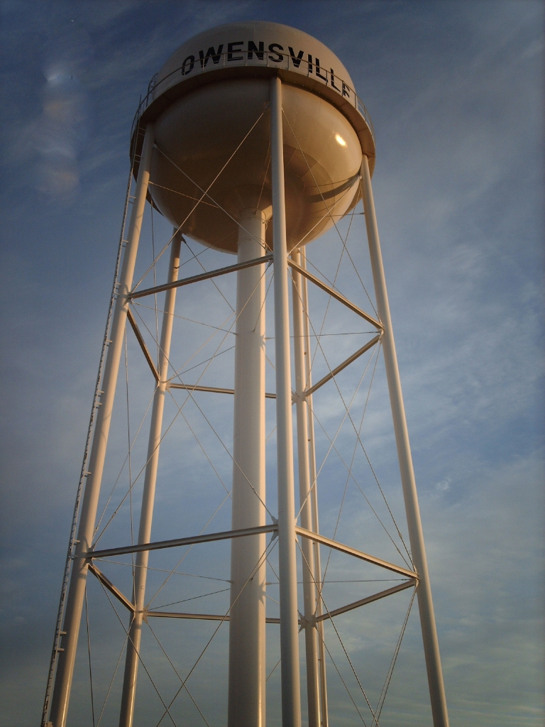 City of Owensville Water Tower